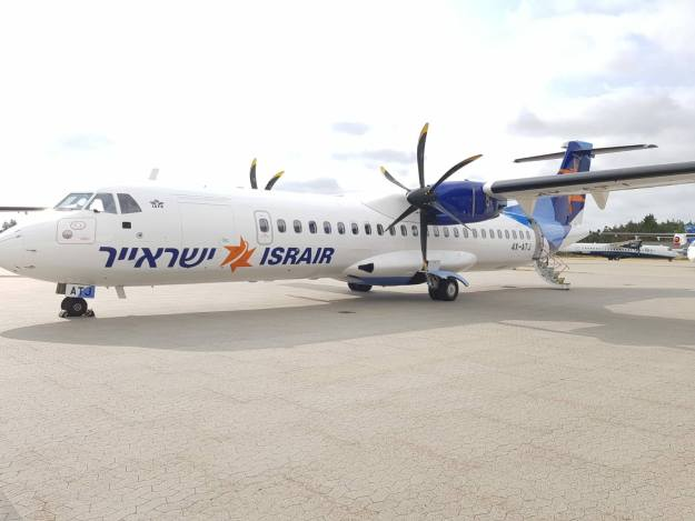 Nac Delivered One Atr 72 500 To Israir Airlines On Lease