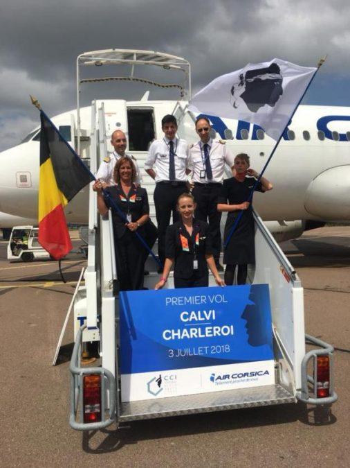 Air Corsica Starts The Calvi Charleroi Route Quantum